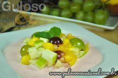 Receita de Salada de Frutas com Iogurte