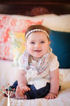 6 month baby photographs Charleston, SC