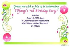 Party Invitations Templates Free Downloads 40Th Birthday Party Invitation  My Birthday  Pinterest  40Th .