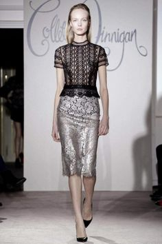 Collette Dinnigan Fall Winter Ready To Wear 2013