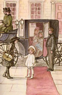 A Little Princess, by Frances Hodgson Burnett, illustrated by Tasha Tudor (1963 edition).