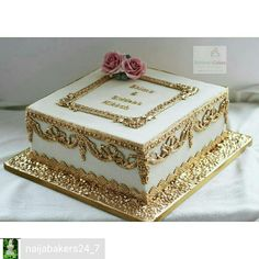 nutella mug cake Unique Cakes, Elegant Cakes, Pretty Cakes, Beautiful Cakes, Diva Cakes, Metallic Cake, Nutella Mug Cake, Gold Birthday Cake, Engagement Cakes