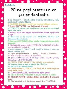 You searched for Cum sa ai un an scolar fantastic in 20 de pasi simpli - EmaLaScoala First Day Of School, Back To School, Lessons For Kids, Emotional Intelligence, Kids Education, Education Quotes, Classroom Management, Teacher Resources, Kids And Parenting