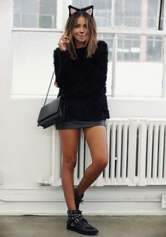 all black everything, Anine Bing bag