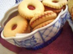 100% receta tunecina: Receta de galletas de mantequilla Mermelada