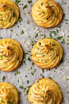 Garlic Parmesan Duchess Potatoes | Cooking Classy