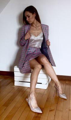 Jacket + skirt= perfect set ❤️