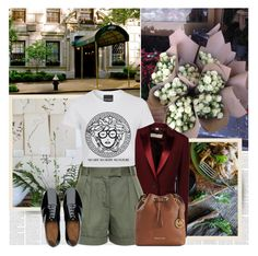 """""""Paris"""" by bklana ❤ liked on Polyvore featuring Gucci, Kale, Burberry, Vilshenko, FitFlop and Michael Kors"""