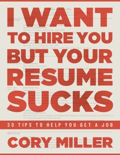 Time to rescue that resume!