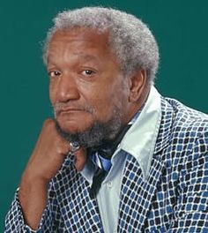 John Elroy Sanford (December 1922 – October known professionally as Redd Foxx, was an American comedian and actor, best remembered for his explicit comedy records and his starring role on the sitcom Sanford and Son. Foxx was born in St. The Comedian, Red Fox Comedian, Classic Hollywood, Old Hollywood, Redd Foxx, Sanford And Son, Afro, Ssj3, Hip Hop