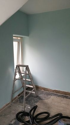 I Used Dulux Mint Macaroon For The Feature Wall And