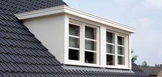 Dormers on each side Attic Loft, Loft Room, Attic Rooms, Pub Interior, Interior Design, Cottage Windows, Tuile, Dormer Windows, Attic Conversion