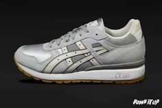 Asics GT II  (Light Grey/Off White) For Men Sizes: 40.5 to 45.5 EUR Price: CHF 150.-  #Asics #GTII #Sneakers #SneakersAddict #PompItUp #PompItUpShop #PompItUpCommunity #Switzerland Baskets, Asics Gt, Chf, Switzerland, Grey, Sneakers, Shoes, Tennis, Undertaker