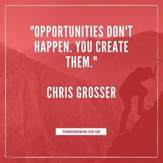 One of the most common things I see is people who sit by and wait for opportunities to come to them... WRONG!  Opportunities are all round us and it is down to us to go looking for them and make things happen!  What are you going to do tomorrow to create opportunities that will help you get closer to your goals?? #personaltrainer #opportunity #business #entrepreneur #fitness #wellbeing #lifestyle #gym #exercise #getfit