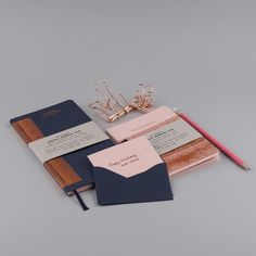 MUS stationery collection Hot Copper | Hot Notebook | Handbag Notebook | mini card Hot Copper #mus #papette #stationery #hotfoil #madeinbelgium #stuff