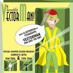Who is this Illustrator know as VectorMan!?
