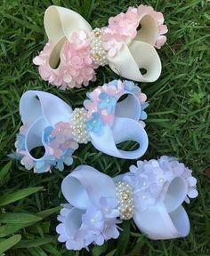 Pink Hair Bows, Ribbon Hair Bows, Diy Ribbon, Baby Girl Bows, Girls Bows, Newborn Bows, Handmade Hair Bows, Kids Hair Accessories, Making Hair Bows