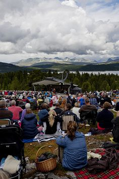 Høgfjellskonserten Ved Rondane - Foto: Bård Gundersen