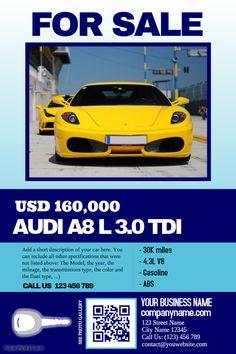 auto sales flyers