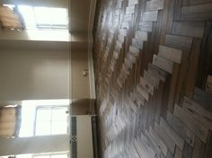 Maple Herringbone all cleaned up after install. Prefinished with Rubio Monocoat.