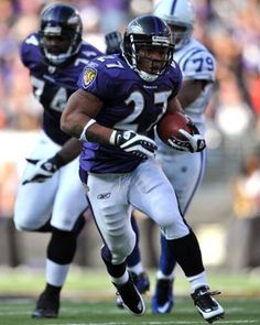 RB Ray Rice (27)~Baltimore Ravens