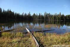 Summit Lake South Campground in Lassen Volcanic National Park