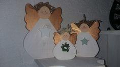 Diy Angels, Cut Outs, Glaze, Faith, Etsy, Wood, Christmas, Crafts, Ideas