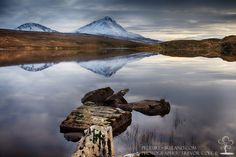 Lough Aganive & Mount Errigal, County Donegal