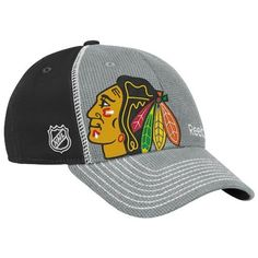 NHL Chicago Blackhawks 2012 Draft Hat, Grey, SM/MD by Reebok. $13.26. Support The Future Of Your Team In This Official Nhl Draft Cap By Reebok.  This Is The Exact Replica Cap That The Future Star Of Your Team Will Put On After They Hear Their Name Drated.