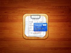Bill Organizer iOS Icon by Umar Irshad