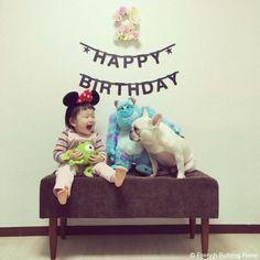 Happy 2nd Birthday❤️ #frenchbulldog #frenchie #dog #daughter #フレンチブルドッグ #女の子