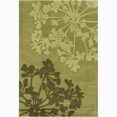 Artist's Loom Hand-tufted Transitional Floral Wool Rug (7'9x10'6) - Free Shipping Today - Overstock.com - 13672073 - Mobile