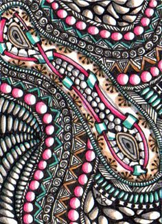 TRADED...SUMMER ZEN...LACES AND BEADS by Margaret Storer-Roche, via Flickr