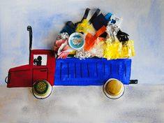 Scrap Art: http://www.education.com/activity/article/recycled-garbage-truck/