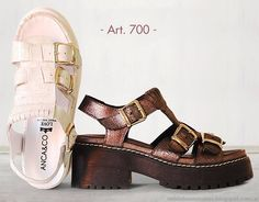 Sandalias clásicas verano 2015 Anca Co. Moda casual zapatos 2015.
