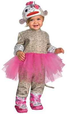 infant monkey halloween costume..... i want to do syera's something like this, but maybe a crown. Princess monkey