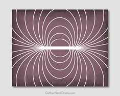 Science as Art Print  Magnetic Field  Available as 8x10