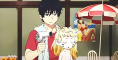 Blue Exorcist~ I didn't know there is more episodes T_T. I want to see it!!!!