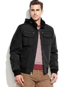 TOMMY HILFIGER Tommy Hilfiger Hooded Bomber Jacket. #tommyhilfiger #cloth # coats