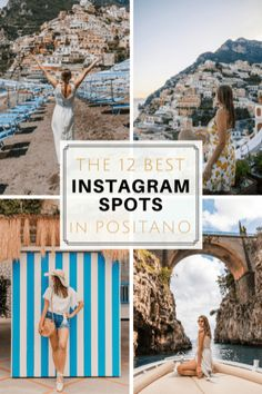 The Best Positano Instagram Shots | 12 Beautiful Shots You Can't Miss. The only guide you need for the best Positano Instagram Spots. Take the best photos from your Amalfi Coast Italy vacation with these 12 Positano Instagram Spots. These beautiful locations boast the most stunning views, and picturesque scenery! Don't miss these stunning spots! Positano Photography. 2018 Summer Vacation. Dreamy Vacation Photography. DanaBerez Travel, Dana Berez #italy #instagram #instagramspots
