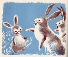 Pick Me! » To Illustrate A Story blog  a gorgeous rabbit illustration