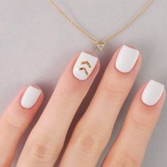 Nail Art Designs Ideas That You Will Love Nails Nail Designs Nail Art Ideas Nail art designs cool nail design acrylic nails Get Nails, Love Nails, How To Do Nails, Hair And Nails, Perfect Nails, Gorgeous Nails, Pretty Nails, White Nail Art, White Nails