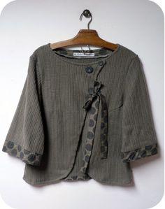 trimmed jacket