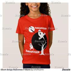 Ghost design Halloween T-Shirts