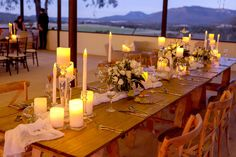 Love this setup in The Hay Shed for our Open Day - absolutely stunning! Furniture Hire by Opulent Events Styling and Flameless candles by flowers by Photography by Location by Us Adam's Peak, Hunter Valley Wedding, Flameless Candles, Wedding Reception Venues, Opening Day, Country Estate, Absolutely Stunning, Table Settings, Wedding Ideas