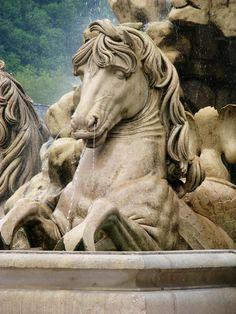 Fountain in Salzburg, Austria (seen in The Sound of Music)