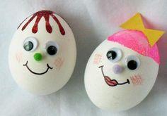 Украсить яйца к пасхе своими руками