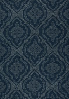 OPHELIA, Navy, W80757, Collection Solstice from Thibaut Custom Cushions, Navy Fabric, Sunbrella Fabric, Art And Technology, Cushion Fabric, Outdoor Fabric, Outdoor Entertaining, Victorian Homes, Pattern Wallpaper