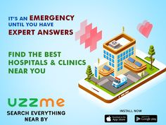There will be sometimes many of us dwell into confusion when finding right doctors & clinics. If you have a nice resource where you can find the best doctors and clinics in an emergency, in your location with user ratings, it is easy for you to choose. This is exactly what UzzMe do for you. #doctorsandclinics #nearby #emergency #easysearch Search Everything, Best Doctors, App Store Google Play, Your Location, Confusion, Clinic, Nice, Easy, Nice France