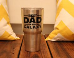 Are you looking for something for the dad that has everything? This 20 oz. Stainless Steel Ozark Trail tumbler is just what dad needs! It will keep him drinks cold all day while hes off to work, out fishing or at the beach. The tumbler is made with high-grade 18/8 stainless steel. Its also double walled and vacuum-sealed.  To have this keepsake for a long time, it should not be placed in the dishwasher, freezer or microwave and should be hand washed. Scrubbing the design could cause dama...